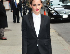 Emma Watson in Saint Laurent | 'Late Show with David Letterman'