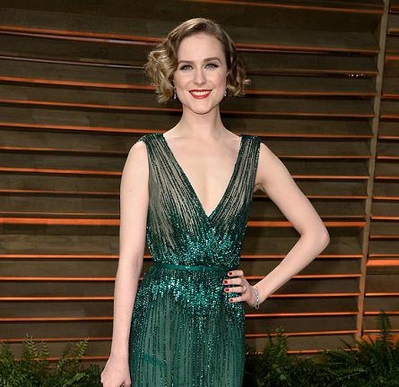 Evan Rachel Wood in Elie Saab Couture | 2014 Vanity Fair Oscar Party