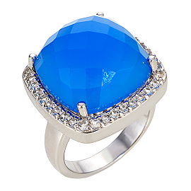 Graziela Gems Sima's Check Ring