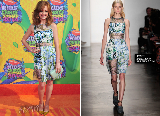 Jayma Mays in Timo Weiland | 2014 Kids' Choice Awards