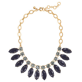 J. Crew Large Sunflower Necklace