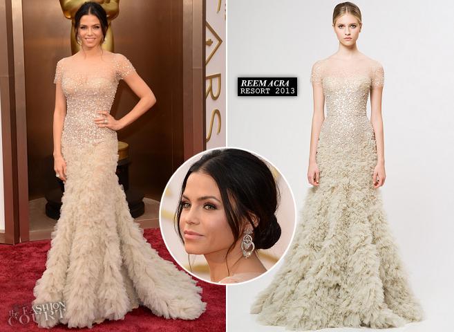 Jenna Dewan-Tatum in Reem Acra | 2014 Oscars