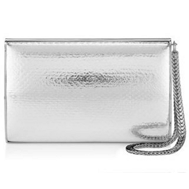 Jimmy Choo CARMEN Watersnake Clutch