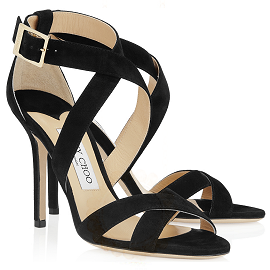 Jimmy Choo 'LOTTIE' Strappy Sandals