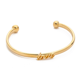 Kate Spade New York 'Say Yes Love' Cuff Bracelet