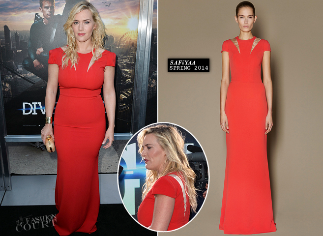 Kate Winslet in SAFiYAA | 'Divergent' LA Premiere