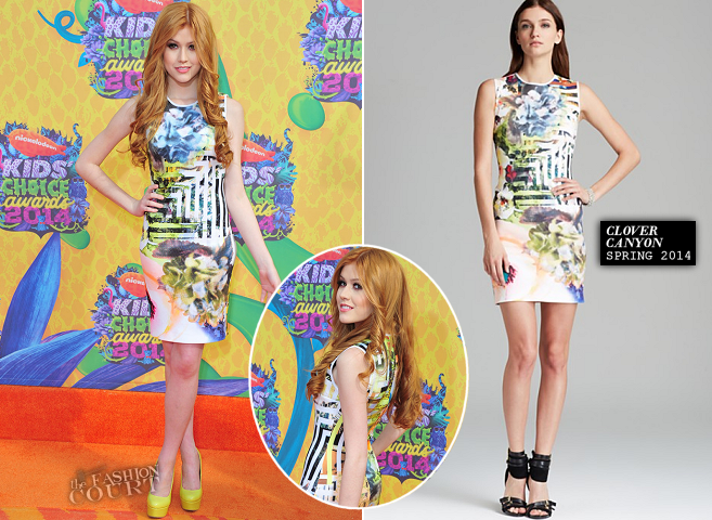 Katherine McNamara in Clover Canyon | 2014 Kids' Choice Awards