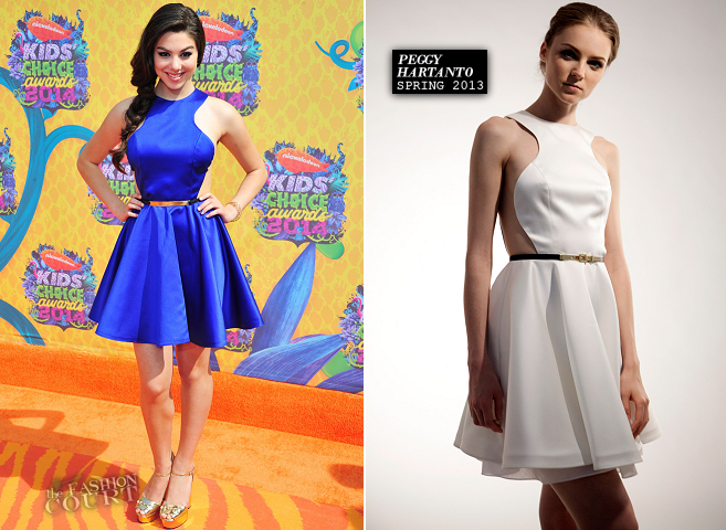 Kira Kosarin in Peggy Hartanto | 2014 Kids' Choice Awards