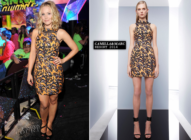 Kristen Bell in Camilla and Marc | 2014 Kids' Choice Awards