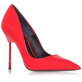 Kurt Geiger London BRITTON Red Patent Pumps