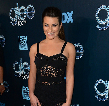 Lea Michele in Milly | 'Glee' 100th Episode Celebration