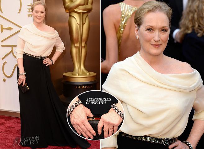 Meryl Streep in Lanvin | 2014 Oscars