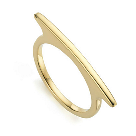 Monica Vinader Skinny Long Ring