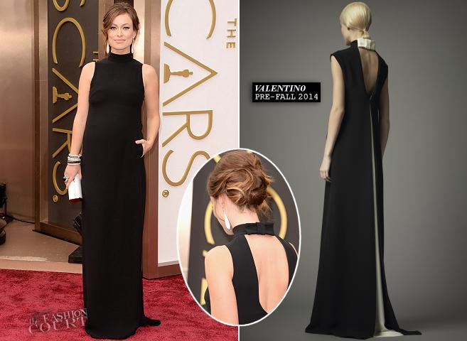 Olivia Wilde in Valentino | 2014 Oscars