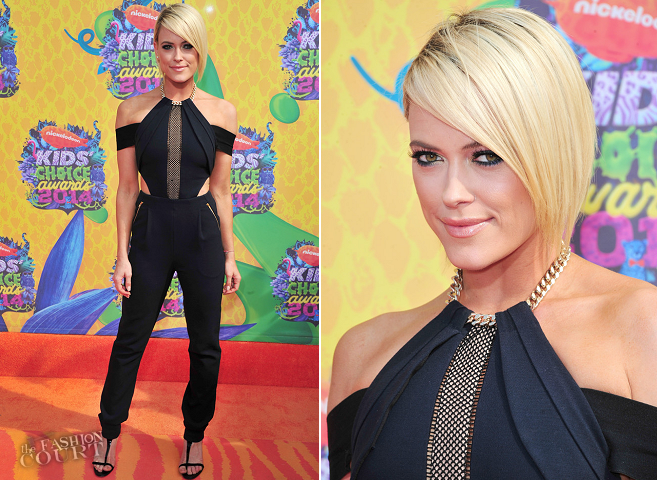 Peta Murgatroyd in Self Portrait | 2014 Kids' Choice Awards