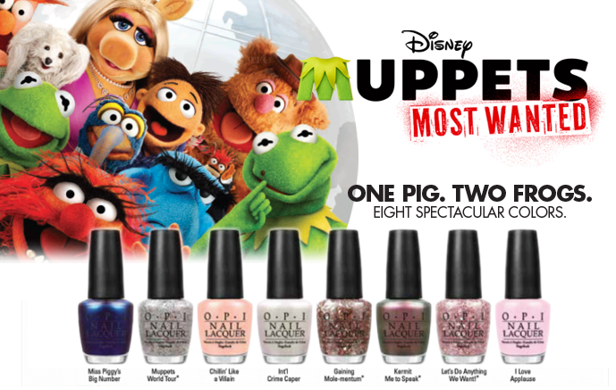 Review: OPI 'Muppets Most Wanted' Collection