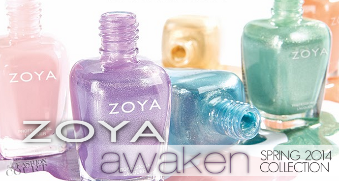 Review: ZOYA 'Awaken' Spring 2014 Collection