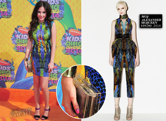 Ryan Newman in McQ Alexander McQueen | 2014 Kids' Choice Awards