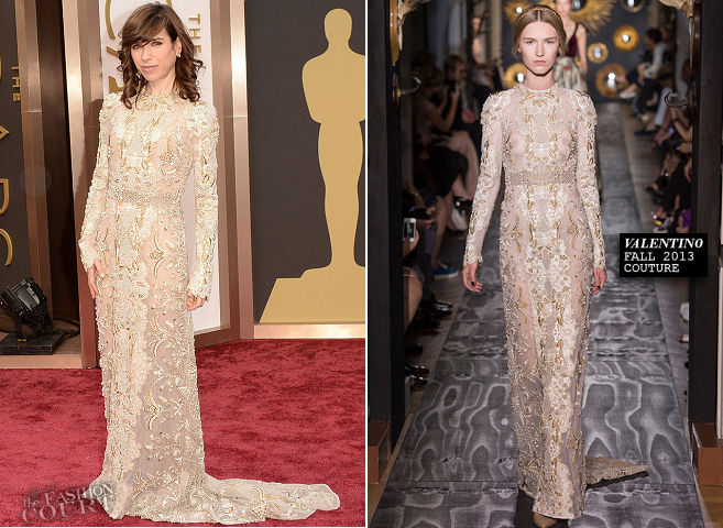 Sally Hawkins in Valentino Couture | 2014 Oscars