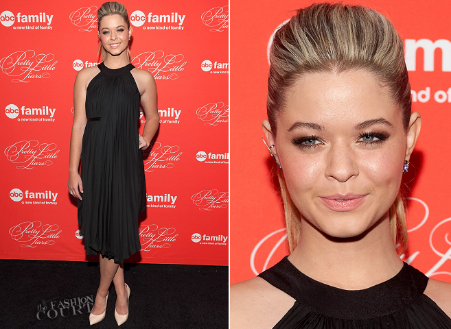 Sasha Pieterse in Anne Fontaine | 'Pretty Little Liars' Season Finale NYC Screening