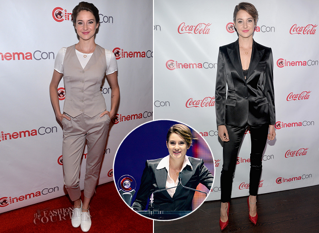 Shailene Woodley in Dolce & Gabbana | CinemaCon 2014 - Day 4