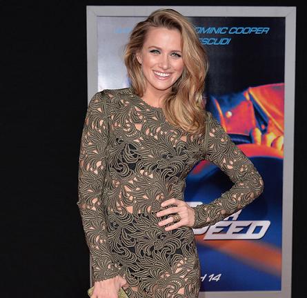 Shantel VanSanten in Rachel Roy | 'Need For Speed' Hollywood Premiere