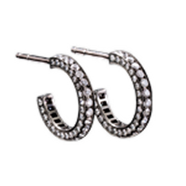 Solange Azagury-Partridge Eternity Skinny Small Hoops