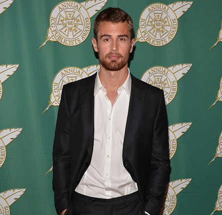 Theo James in Z Zegna | 2014 ICG Publicists Awards Luncheon
