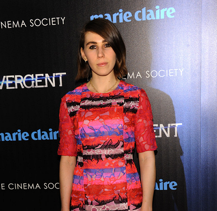 Zosia Mamet in Peter Pilotto | 'Divergent' NYC Screening