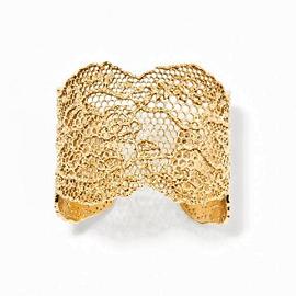 Aurélie Bidermann Vintage Lace Bracelet