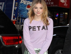 Chloë Grace Moretz in Christopher Kane | 'The Today Show'