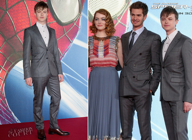 Dane DeHaan in Prada | 'The Amazing Spider-Man 2' Berlin Premiere