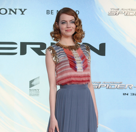 Emma Stone in Chanel | 'The Amazing Spider-Man 2' Berlin Premiere
