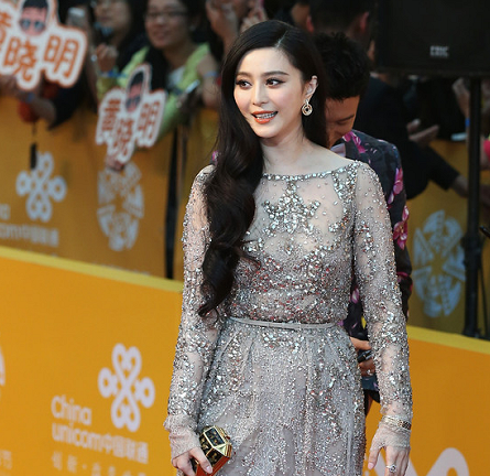 Fan Bingbing in Elie Saab Couture | Beijing International Film Festival 2014 - Opening Night