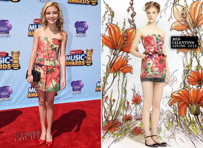 G. Hannelius in RED Valentino | 2014 Radio Disney Music Awards