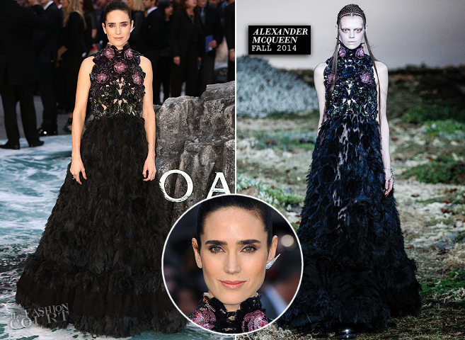 Jennifer Connelly in Alexander McQueen | 'NOAH' London Premiere
