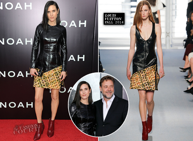 Jennifer Connelly in Louis Vuitton | 'NOAH' NYC Premiere