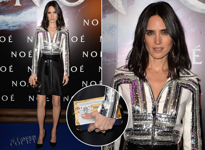 Jennifer Connelly in Louis Vuitton | 'NOAH' Paris Premiere
