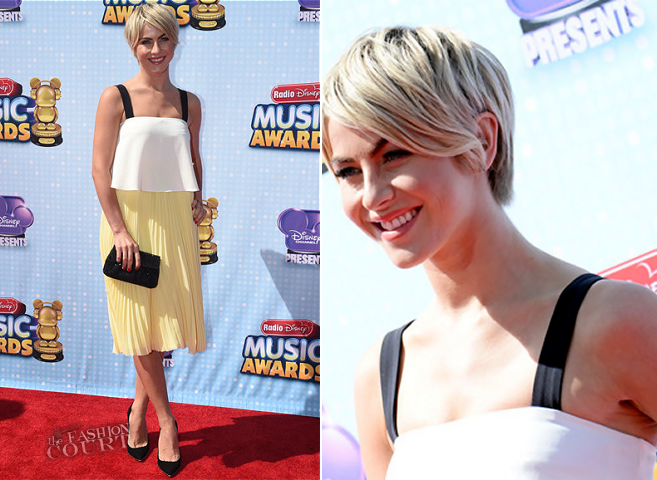 Julianne Hough in Elle Sasson | 2014 Radio Disney Music Awards