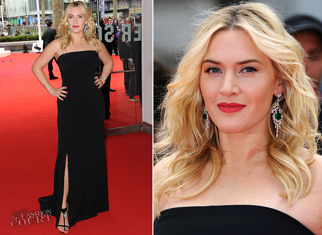 Kate Winslet in Jenny Packham | 'Divergent' London Premiere