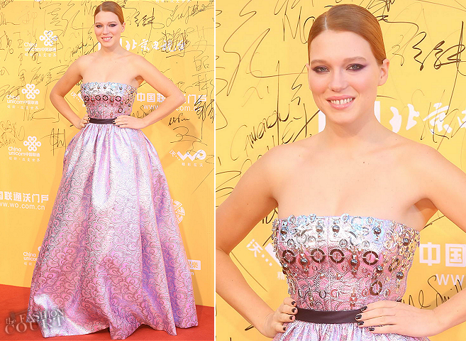 Léa Seydoux in Miu Miu | Beijing International Film Festival 2014 - Opening Night