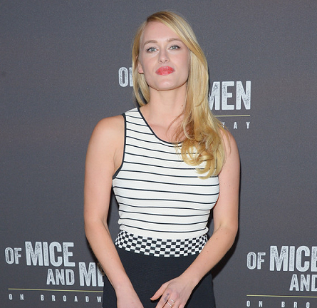 Leven Rambin in Timo Weiland | 'Of Mice And Men' Broadway Opening Night
