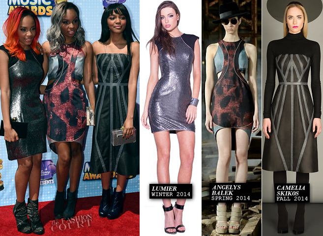 McClain in Lumier, Angelys Balek & Camelia Skikos | 2014 Radio Disney Music Awards