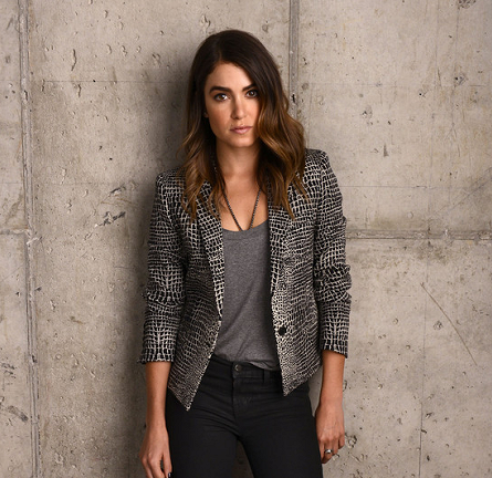 Nikki Reed in The Kooples & J Brand | 'Intramural' Photocall - 2014 Tribeca Film Festival