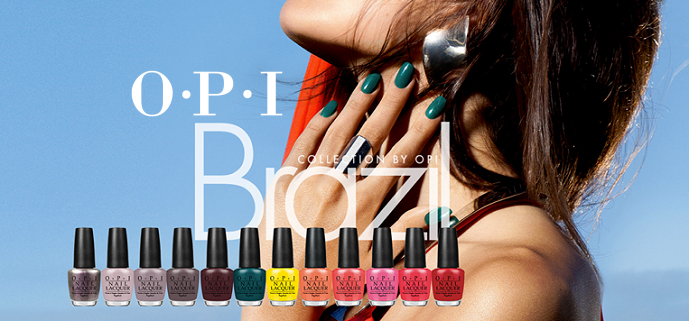 Review: OPI Brazil Spring/Summer 2014 Collection