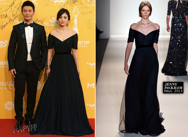 Song Hye-kyo in Jenny Packham | Beijing International Film Festival 2014 - Opening Night