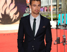 Theo James in Alexander McQueen | 'Divergent' London Premiere