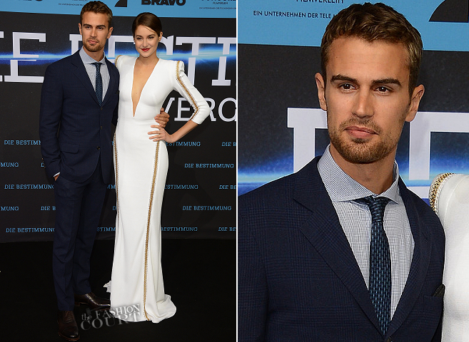 Theo James in Brunello Cucinelli | 'Divergent' Berlin Premiere