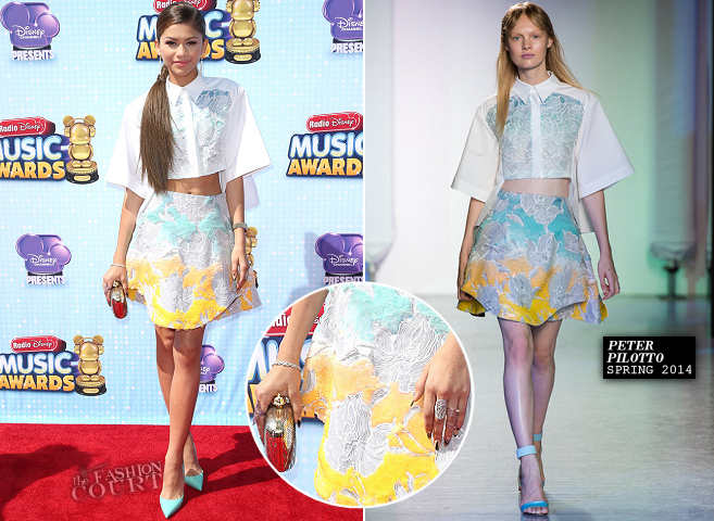 Zendaya in Peter Pilotto | 2014 Radio Disney Music Awards