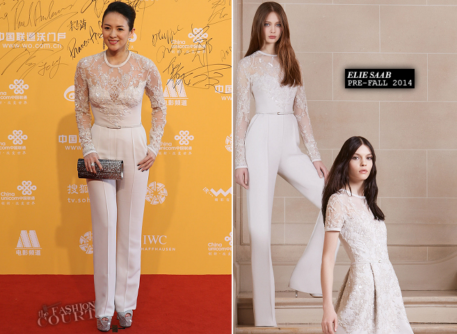 Zhang Ziyi in Elie Saab | Beijing International Film Festival 2014 - Opening Night